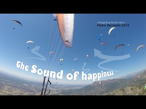 Paragling Nordic Open 2014 - The sound of happiness