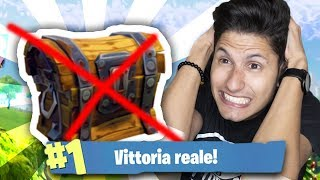 REAL VITTORY OHNE EVER OPEN A BAULE auf FORTNITE