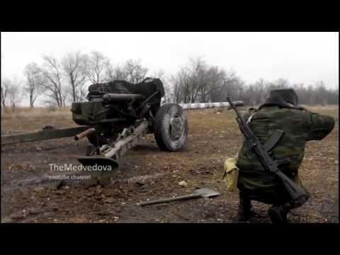 ДНР Редкие кадры ополченцев ATO in Ukraine