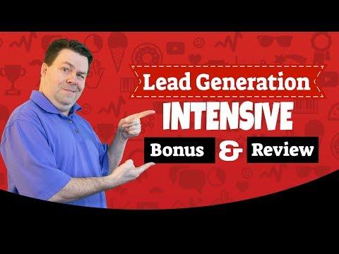 Lead Generation intensive Bonus & Review – A Demo & Bonus of Lead Generation Intensive