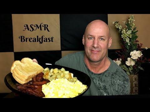 ASMR Eating Breakfast~Story Time~Soft Spoken