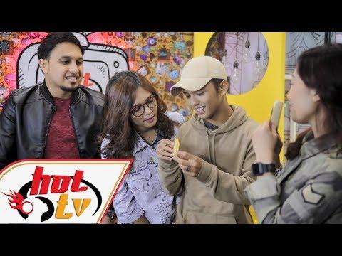 Aiman Tino & Fara Hezel - Hot TV Di TV9