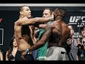 Paulo Borrachinha Shoves Oluwale Bamgbose in Face - MMA Fighting