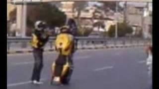 Benghazi Boys Stunts In Tripoli streets استعراض وحيد في طرابلس ليبيا