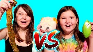 SQUISHY VS SLIME CHALLENGE!!!