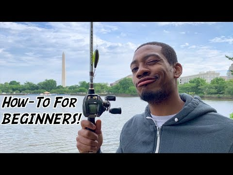 HOW TO Cast a Baitcasting Reel for BEGINNERS!!! (ft. Reggie – 1R1R LIVE!)