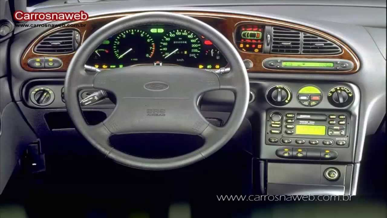 Ford Mondeo Ghia 2 5 V6 Ano 1999 Youtube