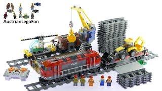 Lego City 60098 Heavy Haul Train - Lego Speed Build Review