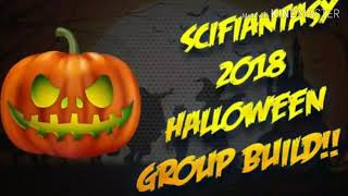 Scifiantasy Halloween group build 2018 fail