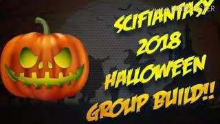 Scifiantasy Halloween group build 2018 fail