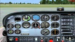 Flight Simulator X -- Lesson 1