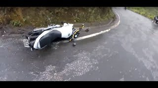 Extremely Close Calls, Road Rage, Crashes & Scary Motorcycle Accidents [EP #68]