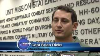 Captain Brian Dicks - Richard T. Kight Award and DFC Recipient