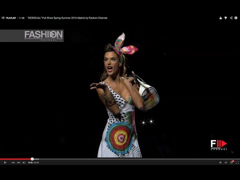 """DESIGUAL""  with Alessandra Ambrosio Full Show Spring Summer 2015 Madrid by Fashion Channel"