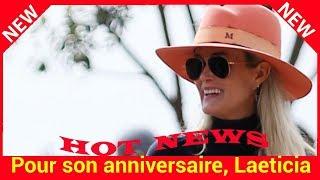 Pour son anniversaire, Laeticia Hallyday poste une vidéo gênante de Johnny