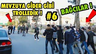 TOPLUCA İNSANLARIN ÜSTÜNE KOŞMA ŞAKASI İLE TROLLEDİK 6 ! Bağcılar