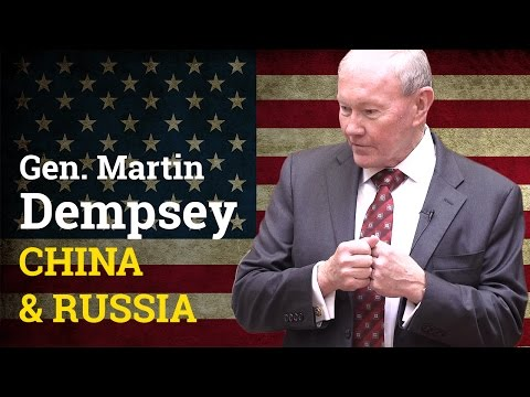 China & Russia: How does the US deal approach two Heavyweights? | General Martin Dempsey (2017)