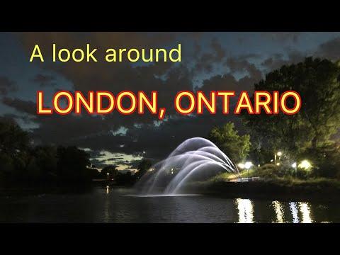 Looking around London, Ontario