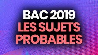 BAC 2019 - Les sujets probables selon les profs (histoire-géo, français, philo, SES, maths...)