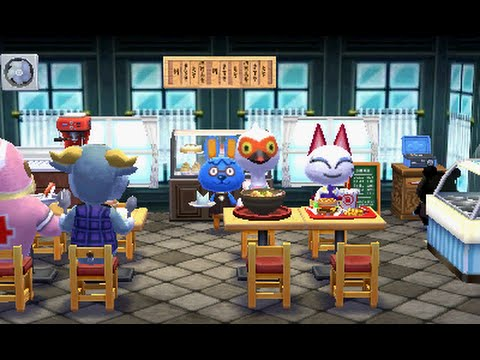 Animal Crossing: Happy Home Designer - City Tour - Youtube