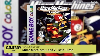 GAMEBOY Time – Micro Machines 1 and 2 – Twin Turbo