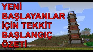 TEKKİT REHBER ÖZETİ - Minecraft Tekkit Rehberi #Bölüm 44