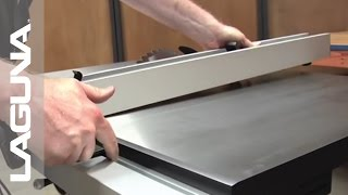 Laguna Tools Fusion Tablesaw Setup - Install The Fence - Part 9 Of 18