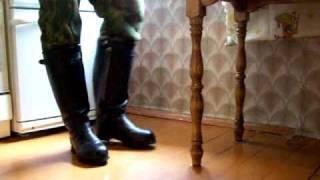 видео БОТИНКИ С ВЫСОКИМИ БЕРЦАМИ 76 «АНГЛИЯ»