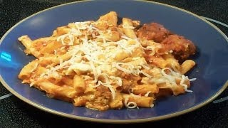 3 Cheese Baked Ziti - E127