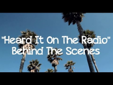 "Ross Lynch ""Heard It On The Radio"" BTS with cast from Austin & Ally 