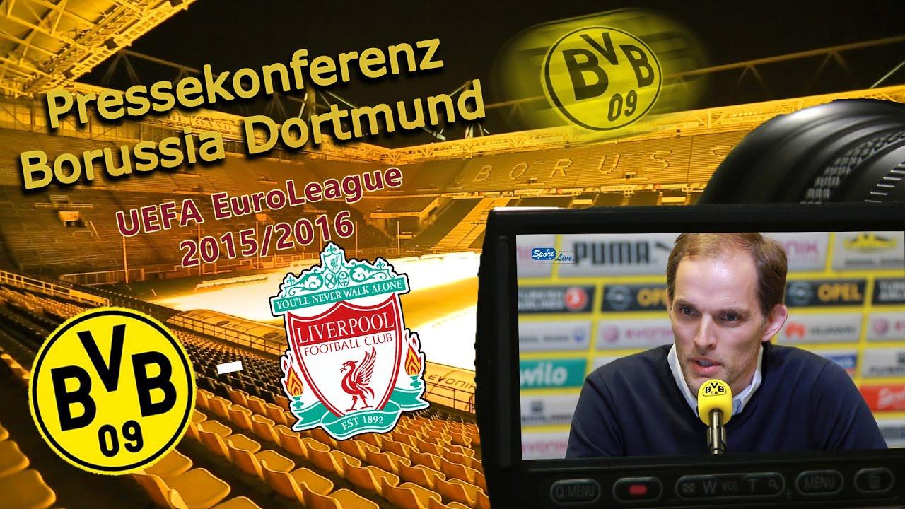 """Borussia Dortmund - Liverpool F.C.: die Pressekonferenz zum """"Spiel des Jahres"""""""