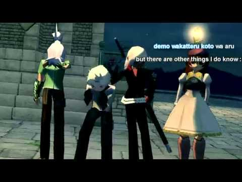 Mabinogi: Lucifer's Music Video featuring Darekaga by PUFFY
