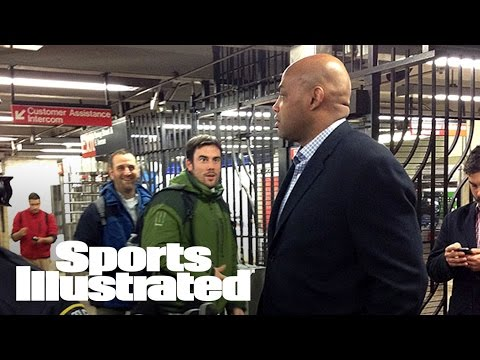 Charles Barkley Riding the NYC Subway | Sports Illustrated