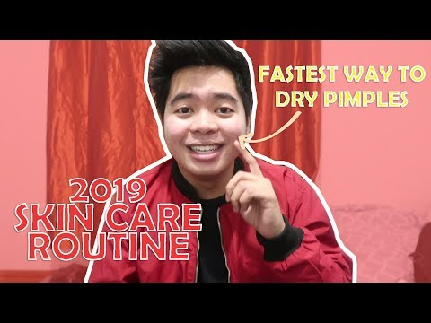 2019 SKIN CARE ROUTINE GOODBYE PIMPLES