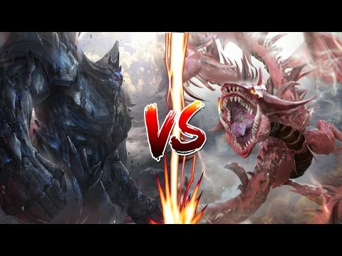 YuGiOh! WAR of the GODS ..Obelisk vs Slifer.. It