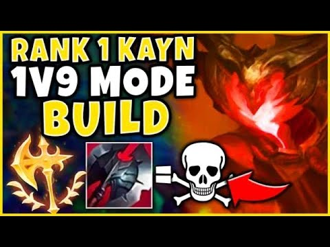 #1 KAYN WORLD BEST RED KAYN STRATEGY (COPY THIS) - League of Legends