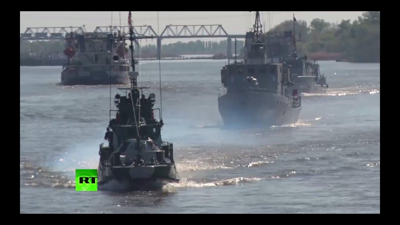 Каспийская флотилия прибыла «погулять по Дону»
