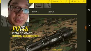 NITECORE P12GTS - Review with Personal Experience