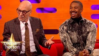 Sir Patrick Stewart Got Caught Watching Star Trek Alone In His Room | The Graham Norton Show