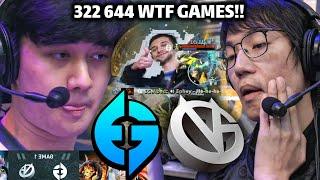 EG vs VG Game 1,2 - WTF 322 644 GAMES!! TI10 MAIN EVENT DOTA 2 HIGHLIGHTS | NewsBurrow thumbnail