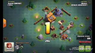 Clash Of Clans:Builder-Hall 3 Troll Base!