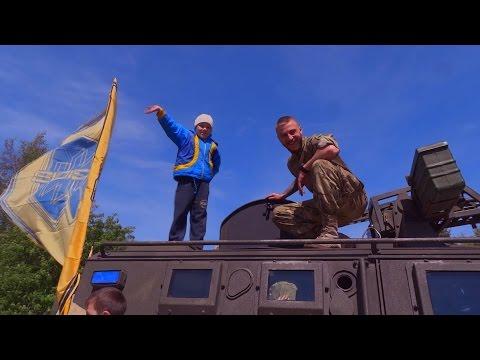 Бійці АЗОВу - захисники Одеси. Квітень 2016