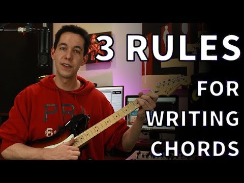 How To Write Chord Progressions – Songwriting Basics [Music Theory- Diatonic Chords]