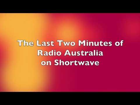 Radio Australia - The Last Two Minutes - January 31, 2017