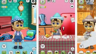 My Talking Pinocchio Android İos Free Game GAMEPLAY VİDEO