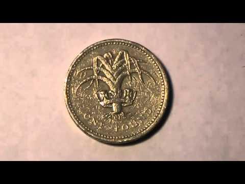 1 фунт 1985 года