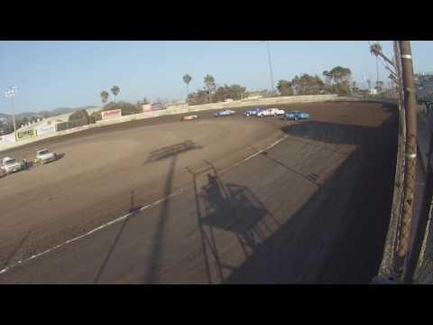 Hobby Stock Heat #2 - Ventura Raceway 8-27-16