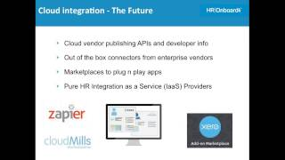 What hr needs to know about integrating cloud apps - webinar