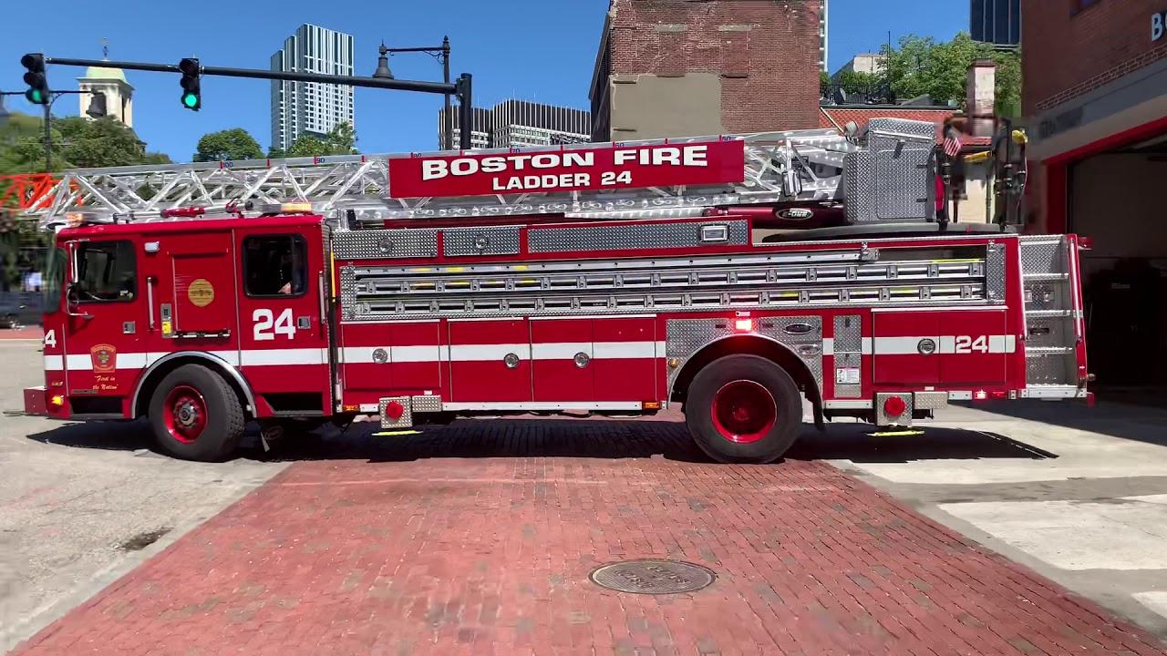 [FIRST EVER CATCH] BRAND NEW BOSTON FIRE LADDER 14