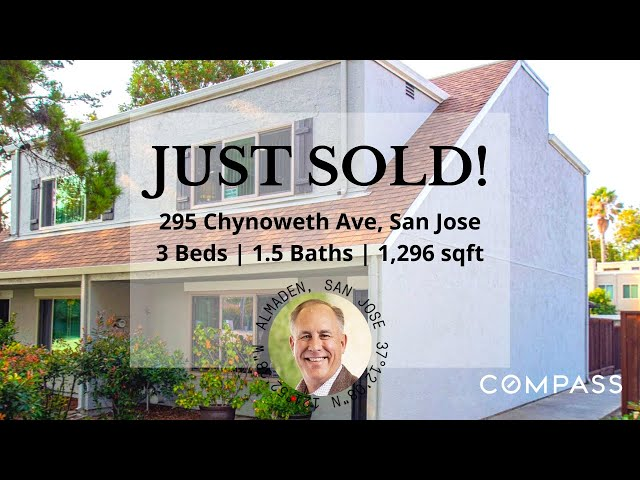 Chynoweth Property in San Jose has just sold in 10 days!   Living in San Jose, CA